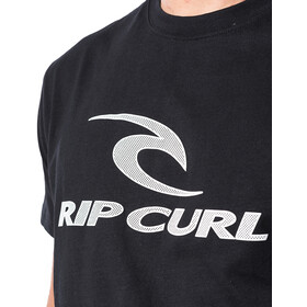 Rip Curl The Surfing Company Camiseta Manga Corta Hombre, black